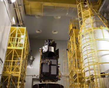 How a Weather Satellite Gets Ready To Go To Space 5