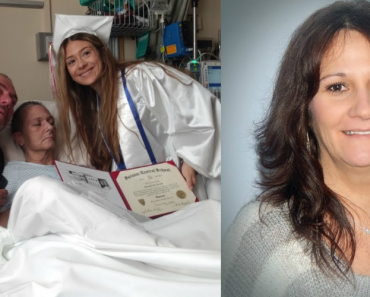 Emotional Moment Dying Mother Gets Her Wish To See Her Daughter Graduate From Hospital Bed 8