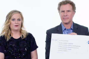 Will Ferrell And Amy Poehler Answer the Web's Most Searched Questions 11