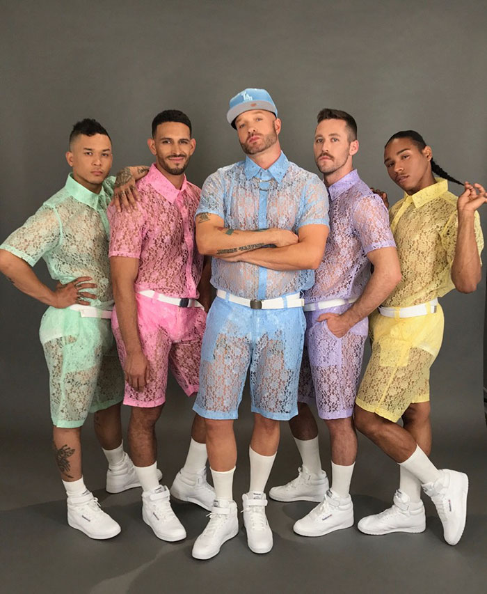 Lace Pastel Shorts For Men Are A Thing Now: Yay Or Nay? 2