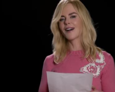 "Nicole Kidman, James Franco & More Do a Dramatic Reading Of Spice Girls' ""Wannabe"" 4"