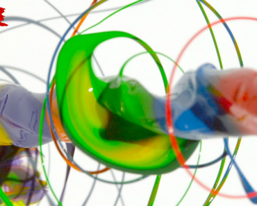The Slow Mo Guys Bring Us a Spinning Drill Covered in Paint 6
