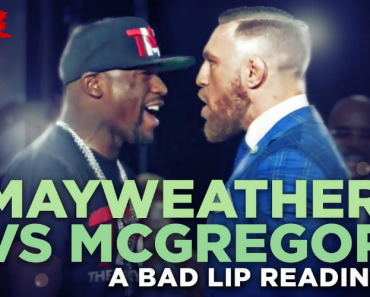 """The """"Bad Lip Reading"""" Take On Mayweather vs. McGregor Is Predictably Hilarious 8"""