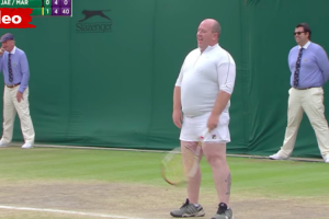 Greystones Man Dons Skirt To Join Women's Doubles Match At Wimbledon 12