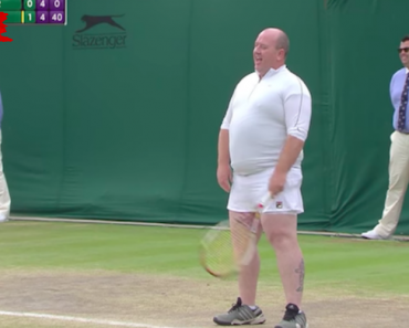 Greystones Man Dons Skirt To Join Women's Doubles Match At Wimbledon 9