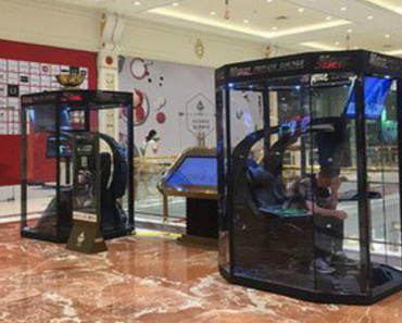 Shopping Mall Introduces Gaming Booths For Bored Boyfriends And Husbands 2