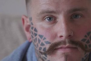 Man Talks About How His Life Has Changed Since Having His Face Tattooed 11