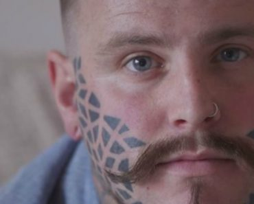 Man Talks About How His Life Has Changed Since Having His Face Tattooed 3