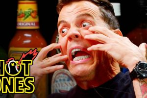 Steve-O Tells Insane Stories While Eating Spicy Wings 10