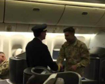 Pilot Dad Surprises Army Son On Flight Back Home 9
