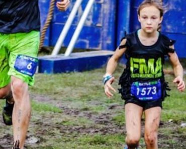 9-Year-Old Girl Finishes 24-Hour Navy SEAL Inspired Obstacle Course 2