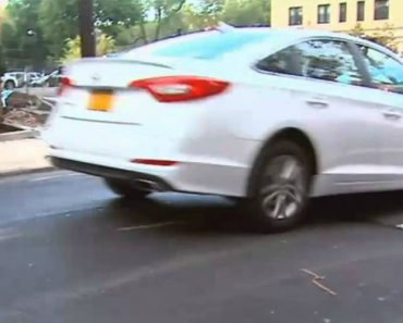 People Flying Over Massive Speed Bumps In Jersey City 3