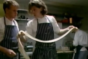 A Baby-Faced Gordon Ramsay Assists Former Mentor Marco Pierre White 10