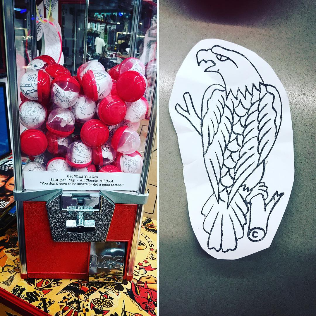 Why The Tattoo Industry Hates The Reality Show Tattoo: This Tattoo Pattern Vending Machine Will Help You Choose