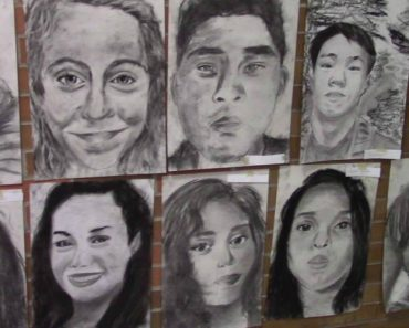 Student Drew Every Member of His High School Class For a Creative Graduation Surprise 5