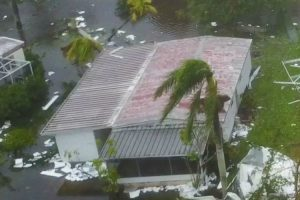 Drone Captures Aftermath Of Hurricane Irma In Naples, Florida 11