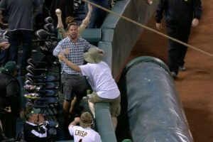 Fan Hilariously Steals Another Fan's Beer After Missing Out On Foul Ball 12