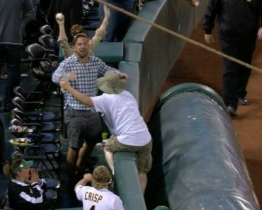 Fan Hilariously Steals Another Fan's Beer After Missing Out On Foul Ball 9