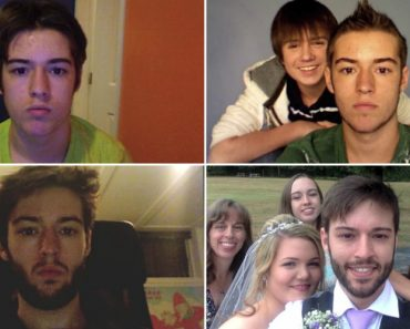 Canadian Takes a Selfie Every Day From Age 12 To The Day Of His Wedding 5