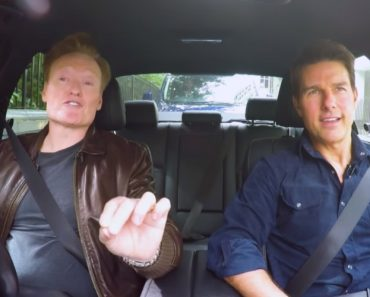 Conan 'Kidnaps' Tom Cruise And Takes Him On An Awkward Drive Around London 9