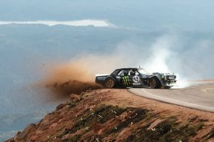 Ken Block and His 1,400hp Ford Mustang Hoonicorn Take on Colorado's Pikes Peak in 'Climbkhana' 10