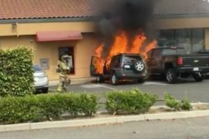 Heroic Passerby Saves Man's Life By Pulling Him From Burning Car 10