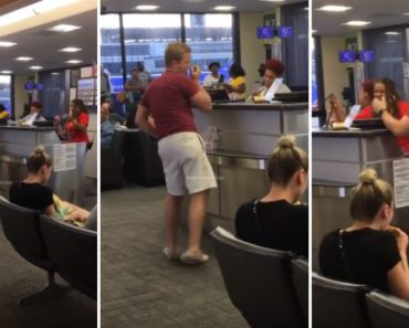 Man Gets On The Mic At The Airport And Starts Singing Black Street's 'No Diggity' 4