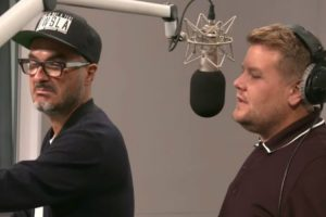James Corden Visited Apple Music's Beats 1 HQ And Annoyed The Hell Out Of Zane Lowe 10