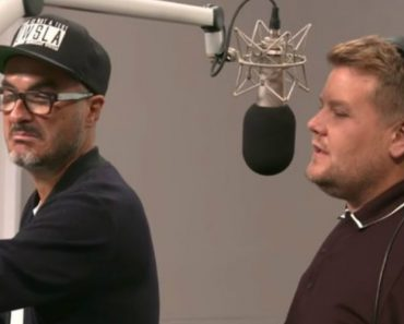 James Corden Visited Apple Music's Beats 1 HQ And Annoyed The Hell Out Of Zane Lowe 9