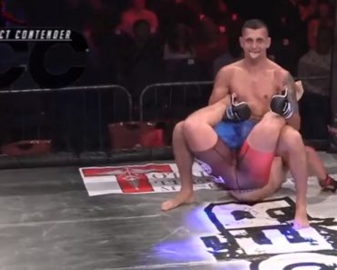 MMA Fighter Pulls Off Historic WWE Finish 3