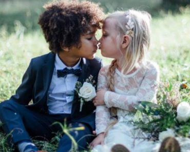 Moms Stage Adorable 'Wedding' Photos for Their Children, 3 and 5 2
