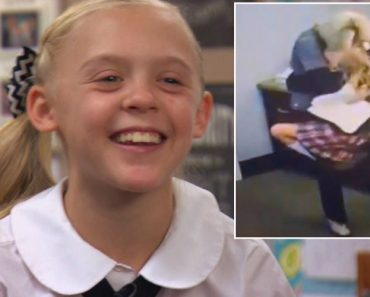 11-Year-Old Leaps Into School Employee's Arms After Learning She'll Be Adopted 1