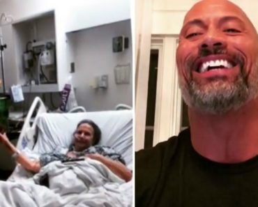 Sick Grandma Brings 'The Rock' Cutout To Hospital, And Here's What He Does When He Finds Out 9