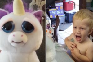 Mom Scares The Hell Out Of Her Kid With New Toy 11