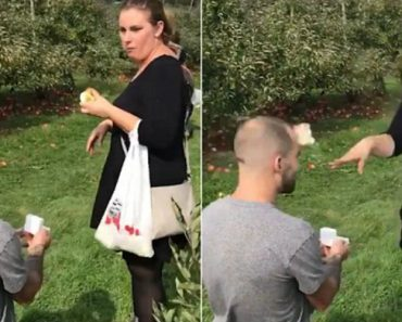 Love Hurts: Ohio Woman Throws Apple At Proposing Boyfriend 1