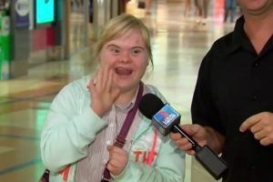 Girl Steals The Show When She Gets On Camera During Newscast 10