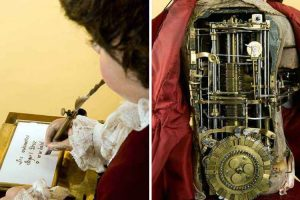 Mechanical Boy Built In The 18th Century Engineered The Act Of Writing 12