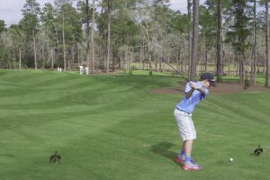 Kid Sinks Hole-In-One On The Inaugural Shot Of A New Golf Course 12