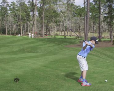 Kid Sinks Hole-In-One On The Inaugural Shot Of A New Golf Course 3