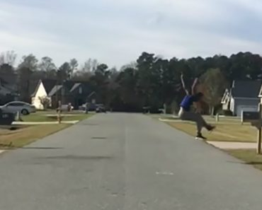 Daring Man Impressively Jumps Across Entire Road 8