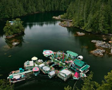 Meet The Couple Who Built Their Own Floating Island 7