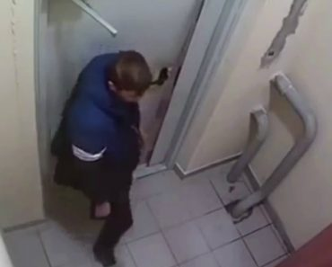 Drunk Spends Three Hours Trying To Kick Down Door Before Finally Finding Open Button 6