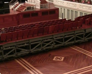 Watch How The Seats Of Inside Nashville Symphony Hall Change Over To A Flat Floor 8