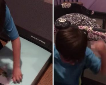 Little Boy Loses His Damn Mind When He Opens His Best Birthday Gift 5