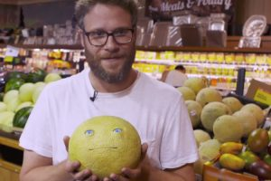 Seth Rogen Pranks Grocery Shoppers With Talking Food 12
