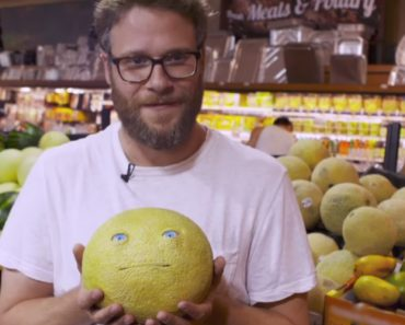 Seth Rogen Pranks Grocery Shoppers With Talking Food 6
