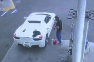 Ferrari Thief Arrested After Begging For Gas Money 12