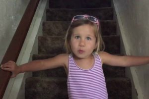 Dramatic Little Girl Sings A Funny Song To Convince Her Dad She Won't Wet The Bed 11