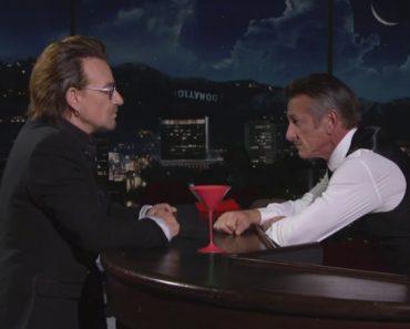 Bono And Chris Martin Cover a Sinatra Song, While Sean Penn Makes a Cameo As a Bartender 3