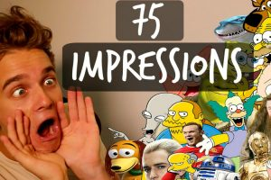 British Guy Performs 75 Pop Culture Impressions in 5 Minutes 11